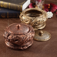 The Living Room Office Large Chinese Retro Ashtray Personality Dragon Handicrafts Home Furnishing Decorations