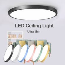 Led Ceiling Lamp Round 220V LED Light 15W 20W 30W 50W Kitchen Luminaria Room Lights Modern Fixture Surface Mounted Home Lighting цена 2017