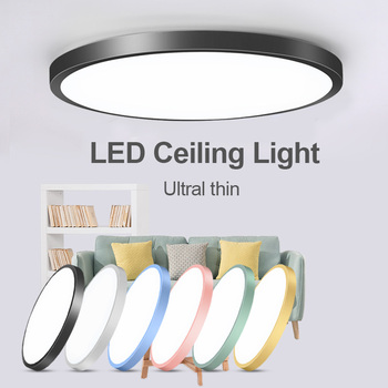 Led Ceiling Lamp Round 220V LED Light 15W 20W 30W 50W Kitchen Luminaria Room Lights Modern Fixture Surface Mounted Home Lighting art deco ceiling lamp porch lamp indoor lighting led home light living room lights modern lighting fixture lampen luminaria