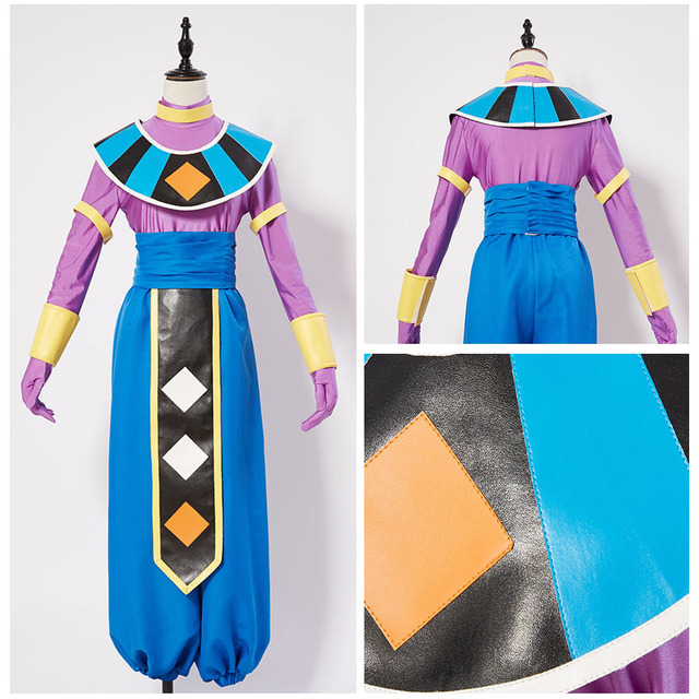 Us 59 0 Dragonball S Dragon Ball Super God Of Destruction Beerus Cosplay Costume Outfit In Anime Costumes From Novelty Special Use On