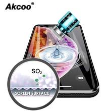 Akcoo S10 Plus screen protector Nano liquid Hi tech invisible film for iPhone 6 7 8 xs max xr samsung S 9 Note