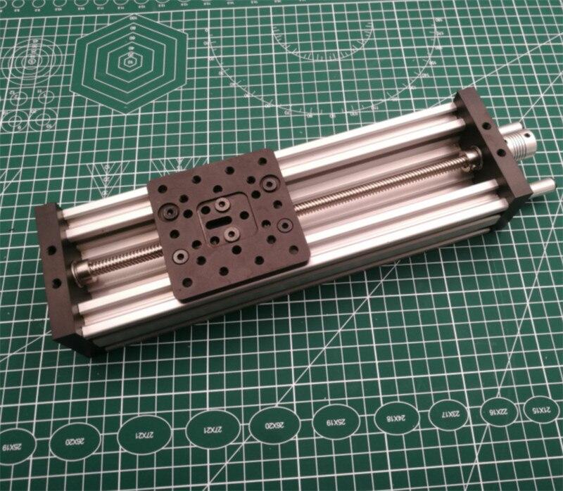1pcs C Beam Linear Actuator Bundle 250mm/500mm C beam linear CNC sliding table kit TR8x8