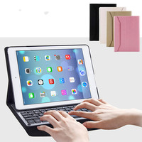 Ultra Thin Magnetic Detachable Aluminum Wireless Bluetooth Keyboard Case For For Apple IPad Air Air 2