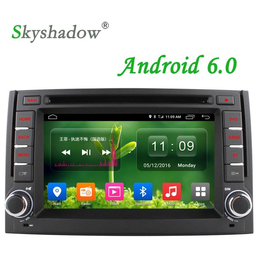 imágenes para Skyshadow 4G SIM LTE Quad Core Android 6.0 Coches reproductor de DVD de radio del gps para hyundai h1 grand starex 2007-2015 2 gb ram apoyo TPMS