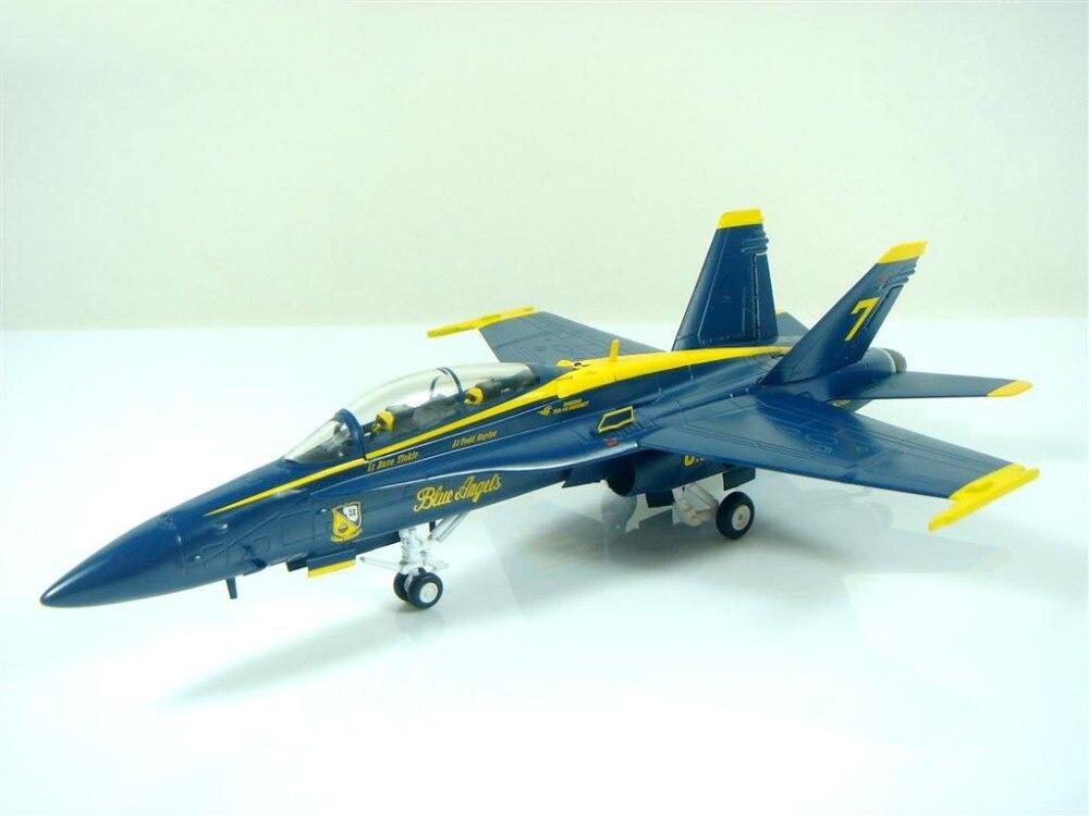 Out of print Wit 1:72 Blue Angels flight demonstration team FA-18D Hornet Alloy model aircraft Favorites Model