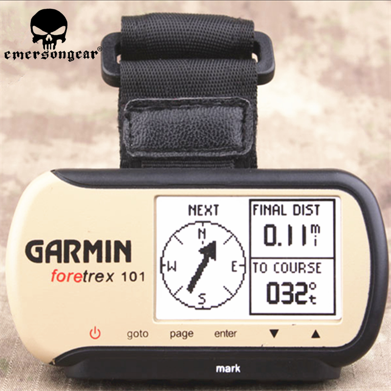 Tactical Dummy Garmin Foretrex 101 Wrist Handheld GPS Navy Seal DEVGRU Wrist-mounted 1:1 Replica Hobby Display Model Kit Accesso