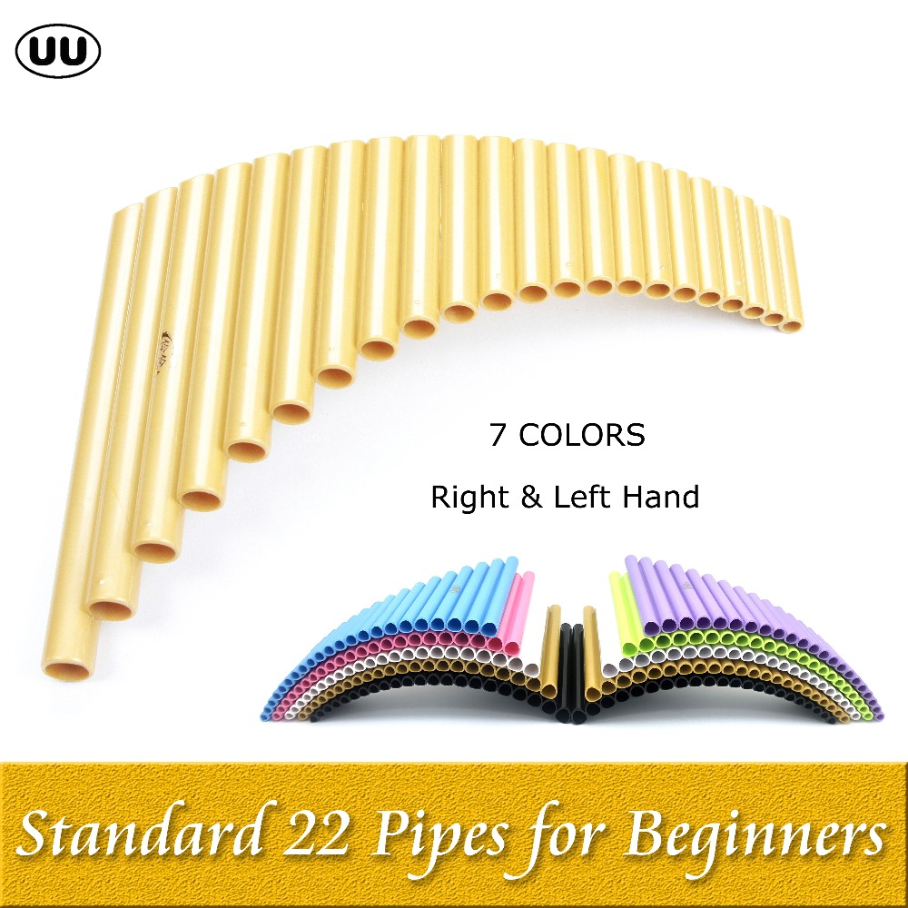 UU Pan Flute 22 Pipes Direct-sale G Key Flauta ABS Plastic PanFlute Professional Pan Pipe Woodwind Musical Instrument Panpipes double 16 pipes 32 tone pan flute easy learning panflute