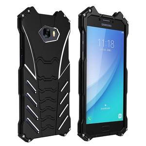 Image 5 - BatMan Luxury Cool กรณีการออกแบบสำหรับ Samsung Galaxy C5 C7 โทรศัพท์มือถือกันกระแทก Kickstand สำหรับ C5 pro C7 pro C9pro