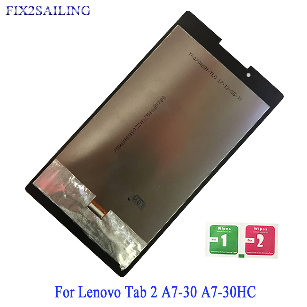 Tablet Accessories Computer & Office Analytical New Lcd Display For Lenovo Tab 2 A7-30 A7-30hc A7-30dc Touch Screen Lcd Display Assembly Tablet Pc Parts For Lenovo A7-30 Tab