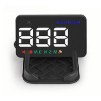RMLKS A5 Universal Car HUD GPS Speedometer Speedo Head Up Display Digital Over Speed Alert Windshield Projetor Auto Navigation
