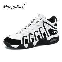 Mangobox New Arrival Men Women Sports Shoes Basketball Boots Comfortable Basketball Sneakers Lightweight Gym Trainers Couples