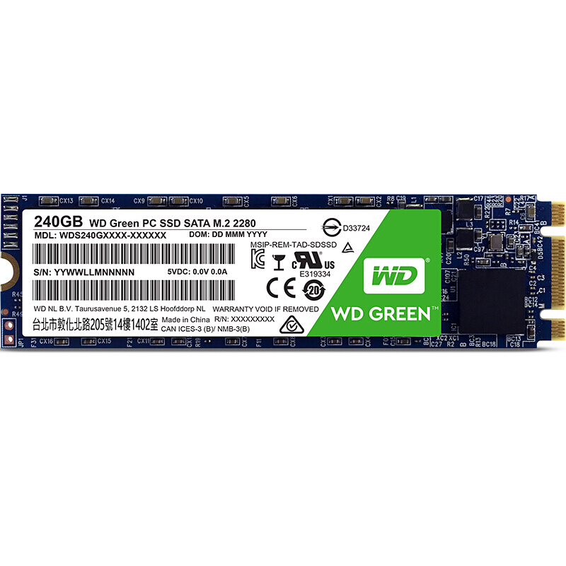 WD SSD GREEN PC 240GB M.2(2280) NGFF laptop internal hard disk drive interno hd notebook harddisk disque 240gb Western Digital adata 3d nano ssd su800 128gb m 2 2280 ngff solid state drive solid hd hard drive disk m2 2280 hdd disk for laptop desktop
