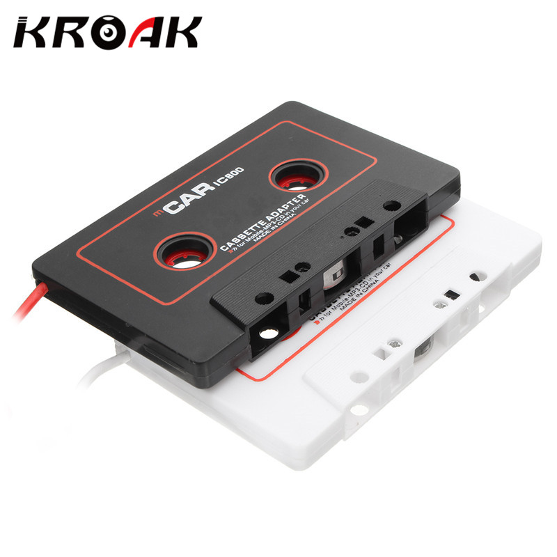universal car cassette tape stereo adapter tape converter for ipod for iphone mp3 4 aux cable cd. Black Bedroom Furniture Sets. Home Design Ideas