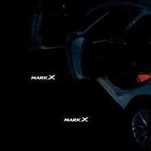 JURUS горячая Распродажа 2 шт. светодиодный двери автомобиля Добро пожаловать Призрак Тень Свет логотип проектор для Toyota Mark X Reiz 2006- 2017
