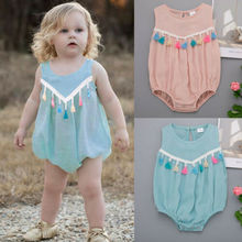 Newest Fashion Baby Girls Outfit Newborn Kid Girl Summer Romper Jumpsuit  One-Pieces Clothes Sunsuit