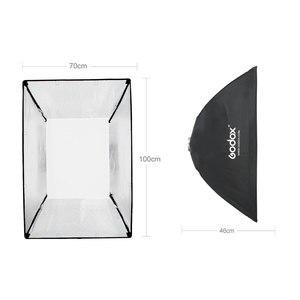 Image 3 - Godox صندوق سوفت بوكس مستطيل محمول ، 60 × 90 سم ، 70 × 100 سم ، 80 × 120 سم ، شبكة قرص العسل ، مع حامل Bowens ، فلاش الاستوديو