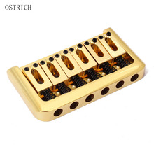 Guitar Parts Gold Hardtail Electric Guitar Fixed Bridge