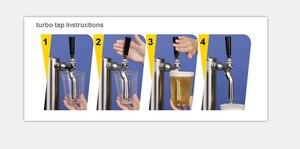 Image 3 - Турбо кран для уменьшения натяжения пивной пены