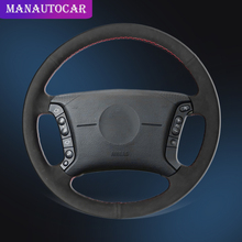 Car Braid On The Steering Wheel Cover for BMW E46 318i 325i E39 E53 X5 Interior Car-styling Auto Covers