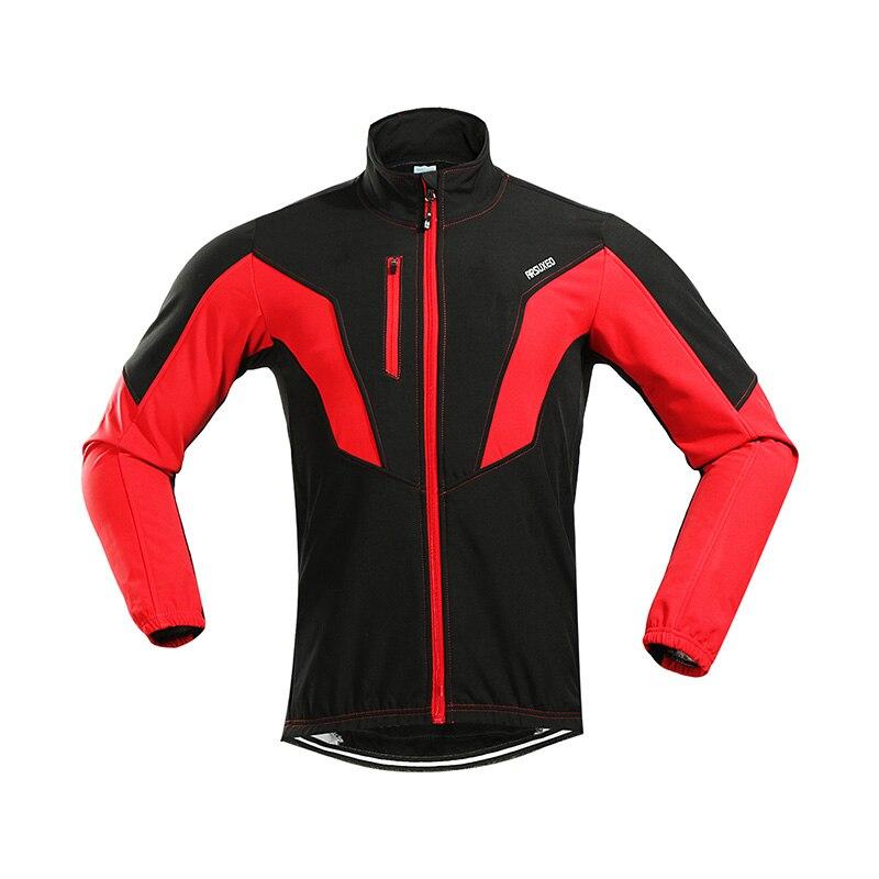 ARSUXEO 2018 Antivento Impermeabile Ciclismo Cappotto Giacca Ciclismo Inverno Termico Caldo Up Fleece MTB Della Bici Giacca Ciclismo Giacca A Vento