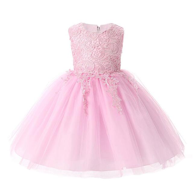 Nuevos Vestidos de Las Muchachas Para El Verano de algodón vestido de Bola vestido de fiesta Niñas Lindo Vestido de la Princesa, niñas ropa de color rojo blanco rosa