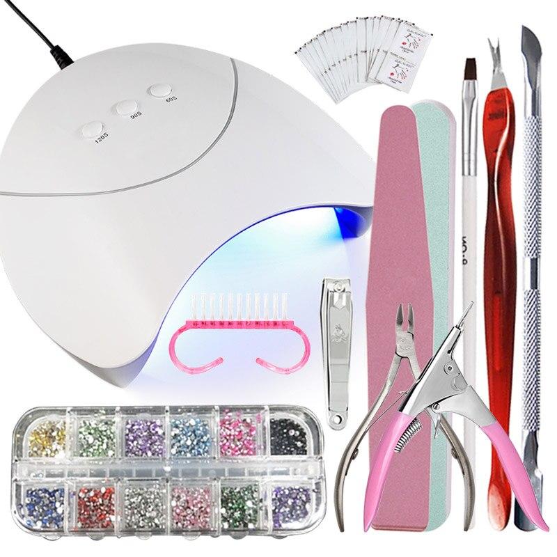MIZHSE Nail Extension Kits Manicure Sets Nail Supplies