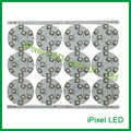 35mm placa de CIRCUITO IMPRESSO 9 pcs 5050 RGB LED Pixel LEDMAN chip DC24V