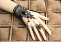 Exquisite gloves black Bridal Wedding Gloves lace Bride Wedding Dress Wedding Accessories Short Gloves B110