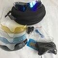 Polarizada 5 lente ciclismo óculos de sol dos homens & mulheres ciclismo óculos esporte mtb da bicicleta da bicicleta óculos de corrida ao ar livre fietsbril eyewear