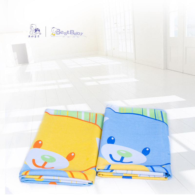 Best Baby 100 150cm Polyester Reusable Soft Breathable Infant Cover Bedding Ny Burp Mattress Waterproof Changing Pads