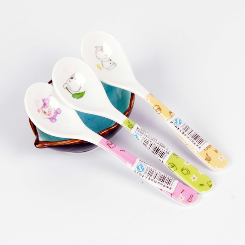 Baby Food Dispensing Spoon BPA Free Infant Training Soft Spoons For Milk Bottle Tableware Baby Food Dispensing Spoon