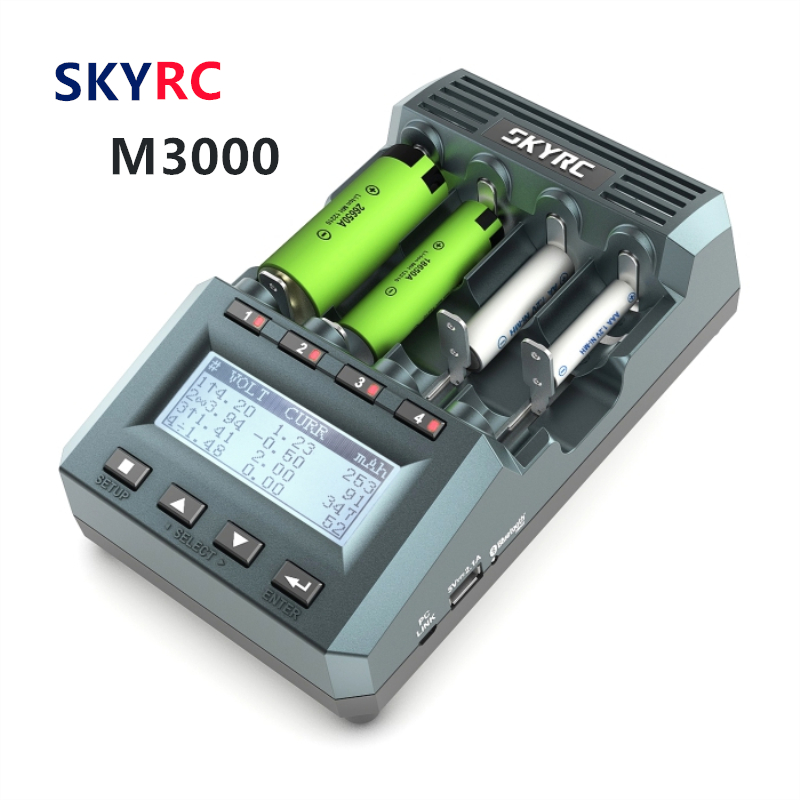 Original SKYRC MC3000 Charger UNIVERSAL BATTERY CHARGER ANALYZER With Bluetooth Charging By Phone For Mutilcopter Fpv Rc Drone