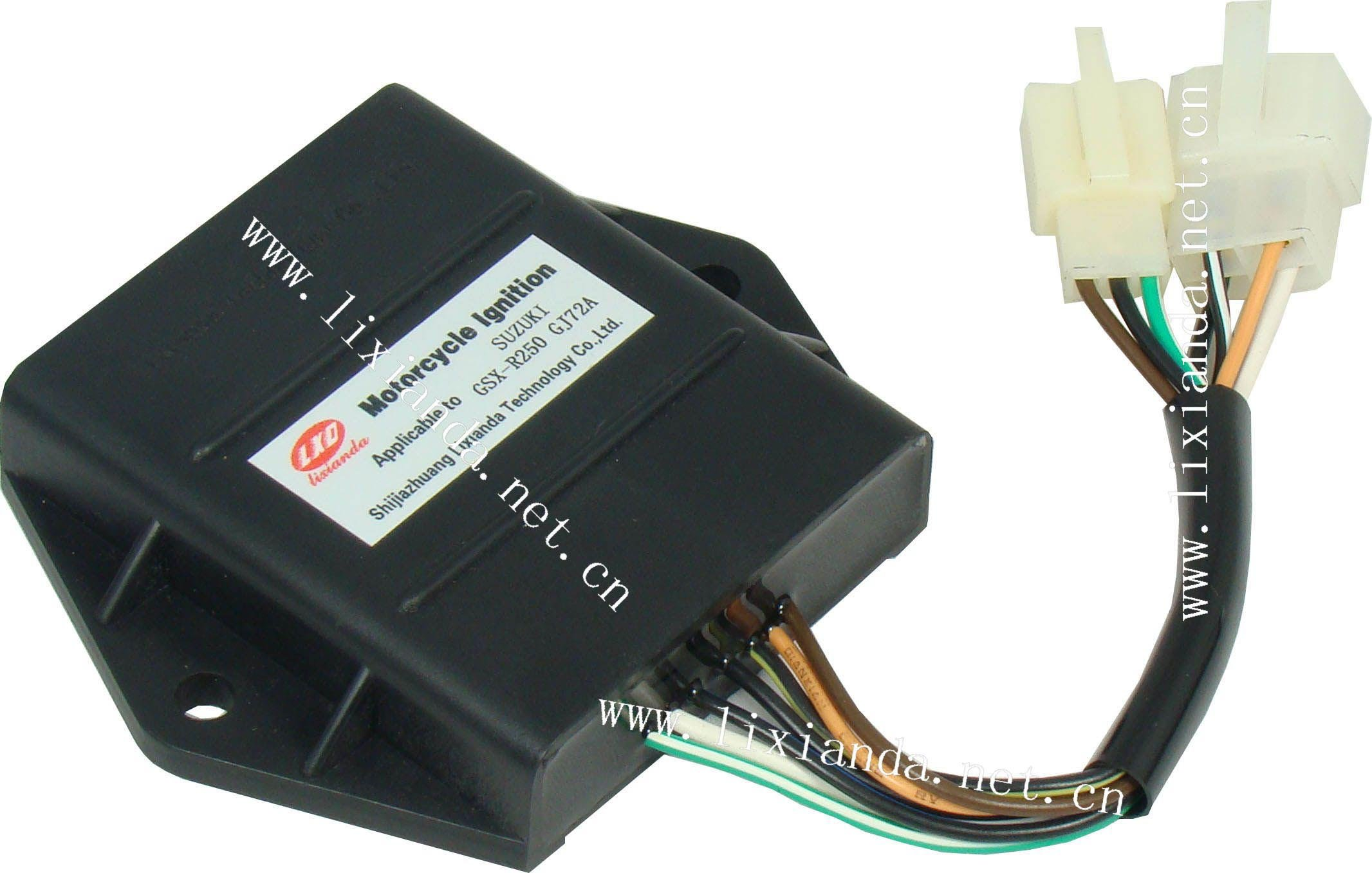 Intelligent digital motorcycle igniter TCI cdi for SUZUKI GSX--R250 GJ72A