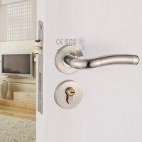 Fashion Style Design Split Style Engineering Mute Lock Door Knob Wood Door Stainless Steel Handle Locks