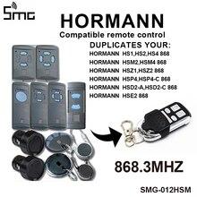 1 sztuk 4 kanałowy HORMANN HSE2 868 mhz pilot do drzwi garażowych kompatybilny Hormann HSM2 HSM4 868 MHz drzwi pilot polecenia klucz