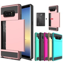Card Case For Samsung Galaxy S10 S10E J3 J5 J7 2016 2017 Slot Phone S8 S9 Plus S6 S7 Note 9 8 Cover