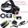 2500LM фар фары кри XM-L2 из светодиодов лампы фонарик свет L2 фары 3 режим из светодиодов + AC / автомобильное зарядное устройство + 2 * 5800