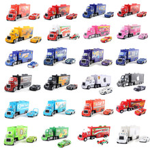 New Disney Pixar Car 2 3 Lightning McQueen Jackson Storm Uncle Truck 1:55 Die Casting Car 3Toy Boy Birthday Christmas Gift