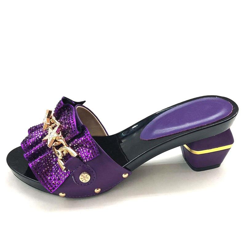 Partie 43 En Charmante Noir argent or Size37 Pour Pompe Violet Strass Chaussures Africain Royal bleu rouge Cfs4 De Dame Couleur Avec Beaucoup Vente pourpre Mw7pw40q