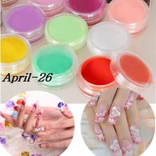 Builder dust tips manicure acrylic design powder decoration professional uv art