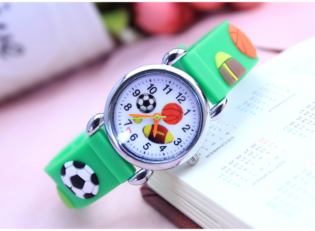 7307c1154406 Brand Quartz Wrist Watch Baby For Girls Boys Kid Watches American baseball  children Fashion Casual Reloj