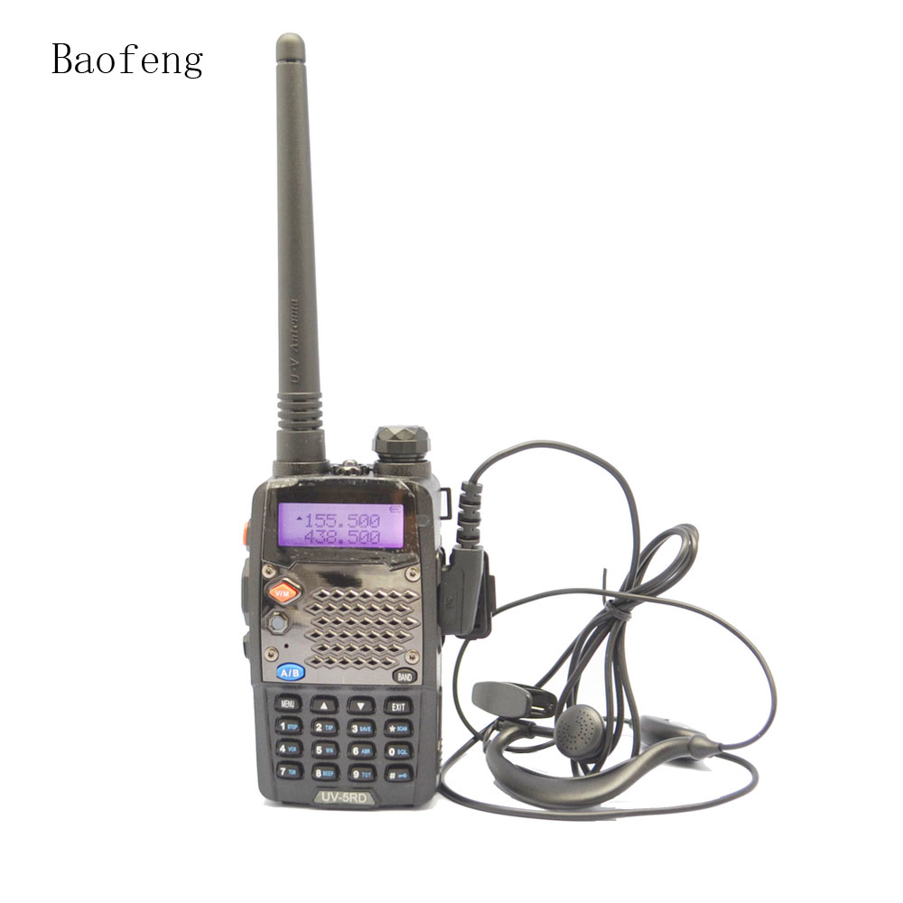 4-PCS New Black BaoFeng UV-5RD Two Way Radio Dual Band 136-174MHz&400-520 MHz Walkie talkie with DHL or EMS free shipping4-PCS New Black BaoFeng UV-5RD Two Way Radio Dual Band 136-174MHz&400-520 MHz Walkie talkie with DHL or EMS free shipping