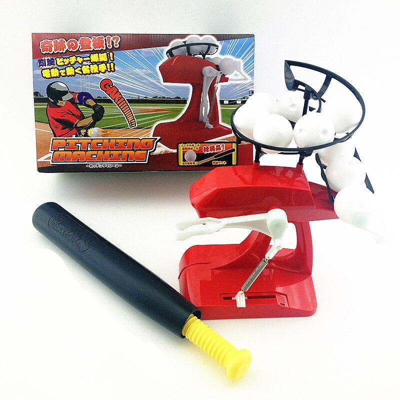 [Новинка] Детская электрическая бейсбольная машина, автоматический диспенсер, тренировочная машина, семейная интерактивная игра для родит