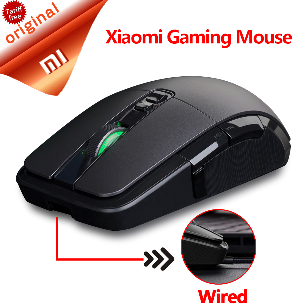 Original Xiaomi Gaming Mouse Wireless 24g Gamer Mause Usb Mi With Dual Mode Connection Wired 7200dpi Mice For Laptop Pc In From Computer Office On