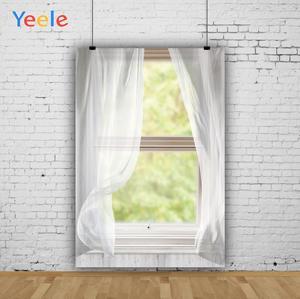 Image 3 - Yeele Window White Curtain Frame Wood Interior Scene Photography Backgrounds Customized Photographic Backdrops for Photo Studio