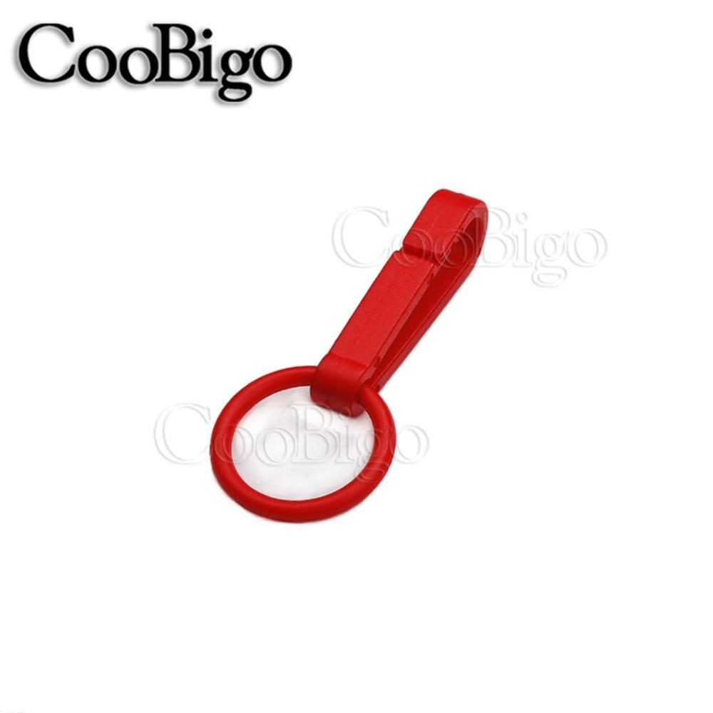 100 шт Упаковка Пластиковые Красочные защелки крюк перчатки пряжки-Крючки с уплотнительным кольцом звено цепи вешалка сумка Запчасти Аксессуары# FLC078(Mix-s - Цвет: Red