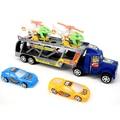 Feliz cereza paquete de 5 niños chicos cool cars inercia helicóptero y Contenedores De Camiones Vehículo de Juguete Conjunto de Juguete para Niños Bebés Niñas