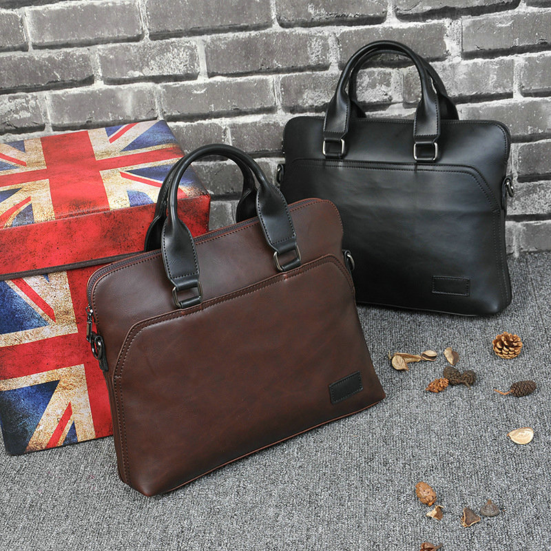 New Design PU Leather Briefcase for Men