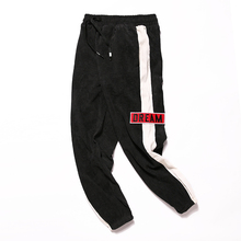 2018 The New listing Product Wind Street Japanese Haren Corduroy Man Leisure Pants Male hip hop Recommend Fashion size M-3XL