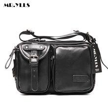 MR.YLLS Men Vintage Business Messenger Bag Korean Men Bags Work Multifunctional Lovers Crossbody Bag  School Fashion mochila